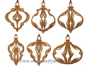 Embellished Ornaments Scroll Saw Pattern