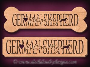 German Shepherd Scroll Saw Pattern