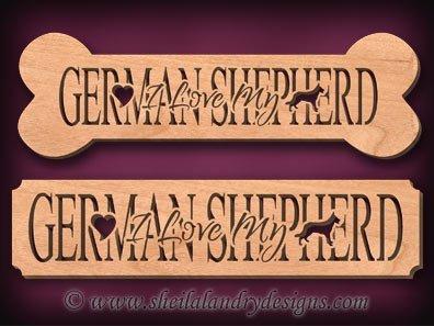 German Shepherd Scroll Saw Pattern