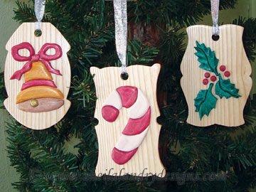 Gift Tag Segmentation Ornaments