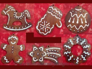 Gingerbread Man Scroll Saw Pattern