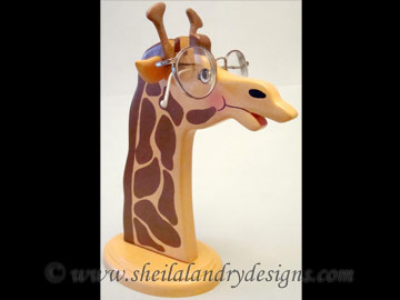 Giraffe Glasses Stand Woodworking Plans