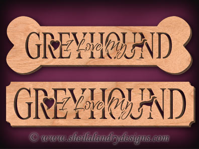 Greyhound Scroll Saw Pattern
