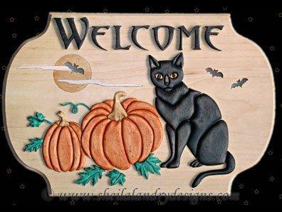 Halloween Intarsia Pattern
