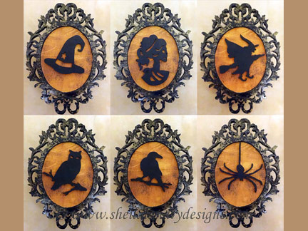 Halloween Scroll Saw Ornaments Pattern