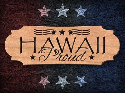 Hawaii Scroll Saw Pattern