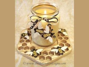 Honey Bee Laser Pattern