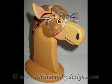 Horse Glasses Stand Woodworking Plans