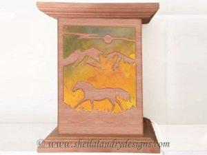 Horse Nightlight Scroll Saw Pattern