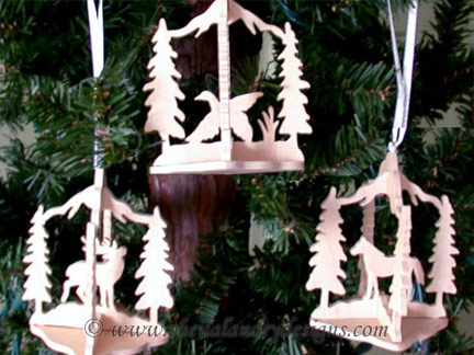 Horse Ornament Scroll Saw Pattern