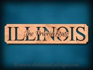 Illinois - The Prairie State Scroll Saw Pattern
