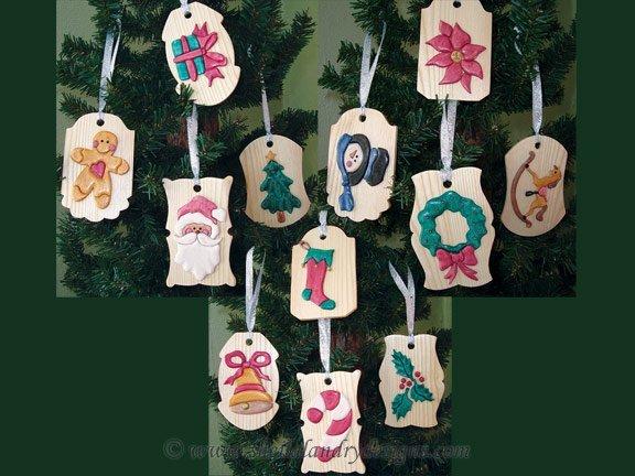 Intarsia Ornaments Pattern
