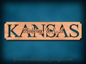 Kansas - Midway USA Scroll Saw Pattern