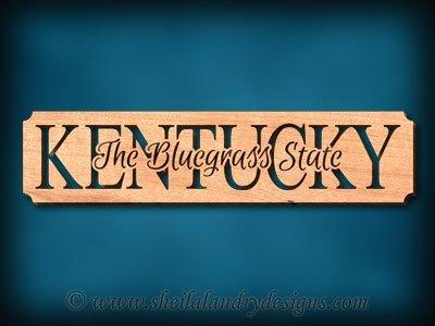 Kentucky - The Bluegrass State - Sheila Landry Designs