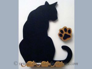 Kitty DIY Chalkboard Pattern