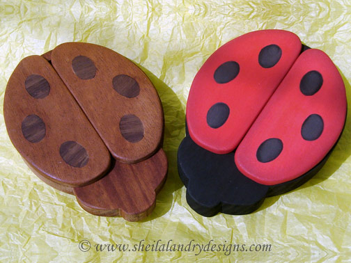 Ladybug Woodworking Plans