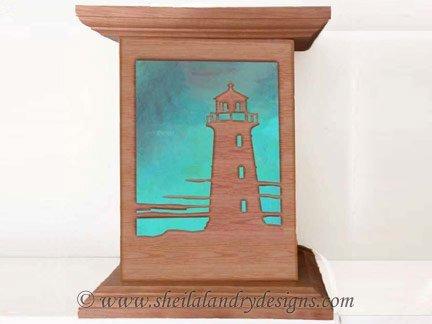 Lighthouse Nightlight Scroll Saw Pattern
