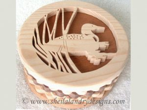 Loon Box Scroll Saw Pattern