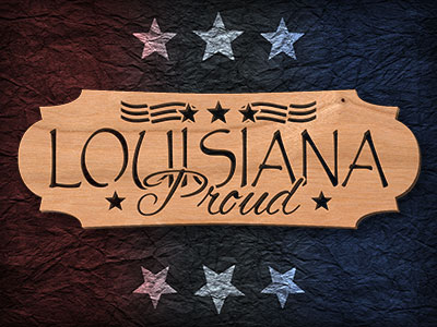 Louisiana Scroll Saw Pattern