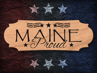 Maine Proud Scroll Saw Pattern