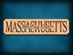 Massachusetts - The Bay State Scroll Saw Pattern