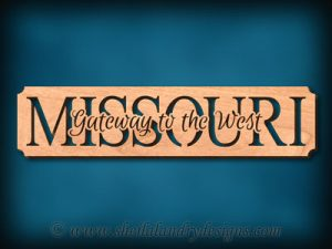 Missouri - Gateway To The West Scroll Saw Pattern