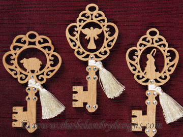Nativity Ornaments Scroll Saw Pattern