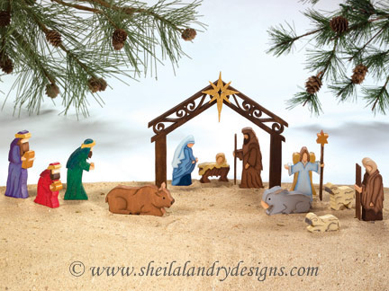 Nativity Woodworking Plans
