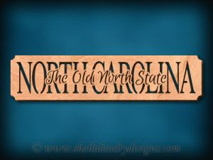 North Carolina - The Old North State Scroll Saw Pattern