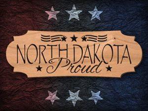 North Dakota Scroll Saw Pattern