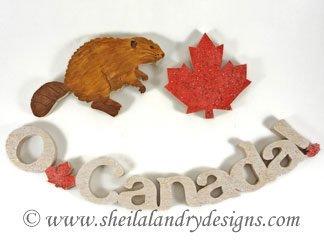 O Canada Vector Image