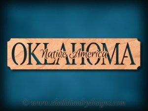 Oklahoma - Native America Scroll Saw Pattern