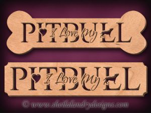Pitbull Scroll Saw Pattern