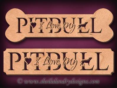 Pitbull Scroll Saw Pattern