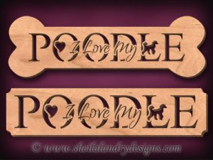 Poodle Scroll Saw Pattern