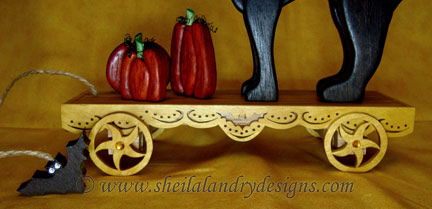 Pumpkin Scroll Saw Plans