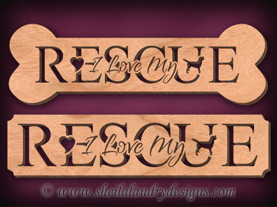 Rescue Dog Scroll Saw Pattern