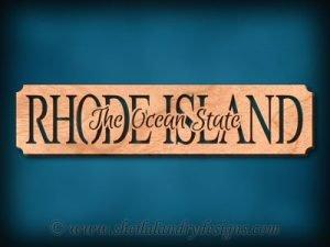 Rhode Island - The Ocean State Scroll Saw Pattern