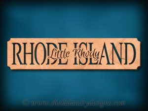 Rhode Island - Little Rhody Scroll Saw Pattern