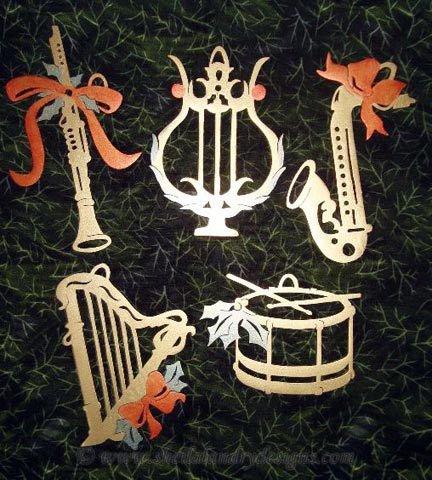 Saxophone Laser Pattern