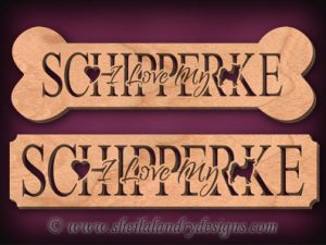 Schipperke Scroll Saw Pattern