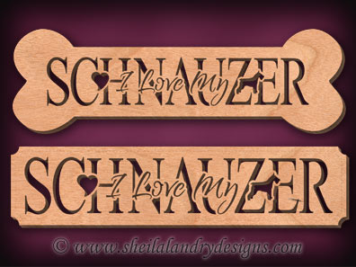 Schnauzer Scroll Saw Pattern