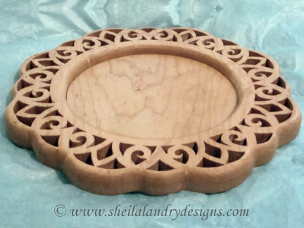 Scroll Saw Tray Pattern