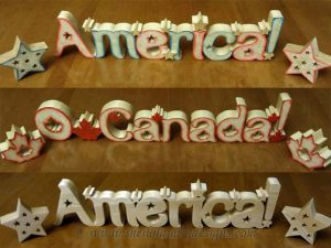 Scroll Saw America Pattern