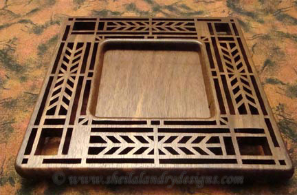 Scroll Saw Art Deco Pattern