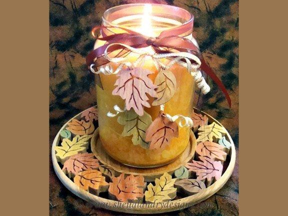 Scroll Saw Autumn Pattern