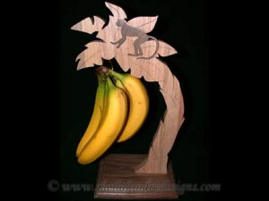 Scroll Saw Banana Holder