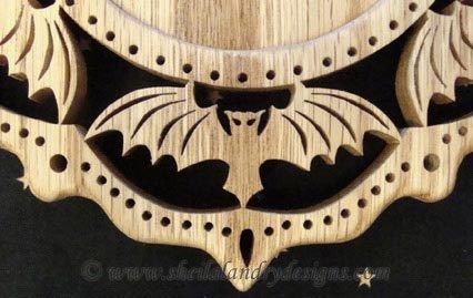 Scroll Saw Bat Pattern