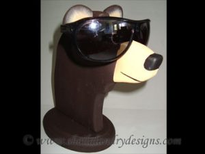 Scroll Saw Bear Eyeglass Holder Pattern