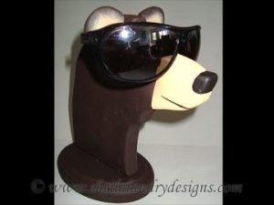Scroll Saw Bear Eyeglass Holder Pattern